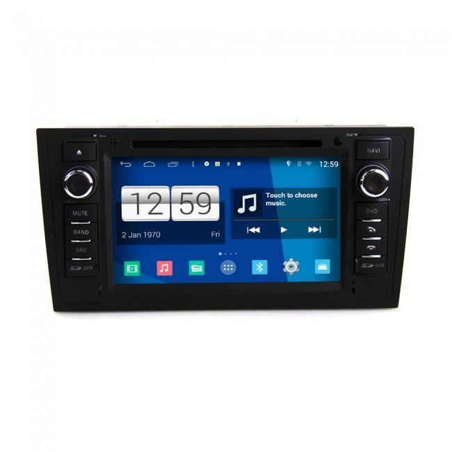 Autoradio Android Audi A6 S6 Rs6 1997 2004 Poste Dvd