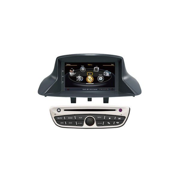 autoradio dvd gps renault megane iii avec fonction bluetooth divx rds usb boutique autoradio. Black Bedroom Furniture Sets. Home Design Ideas