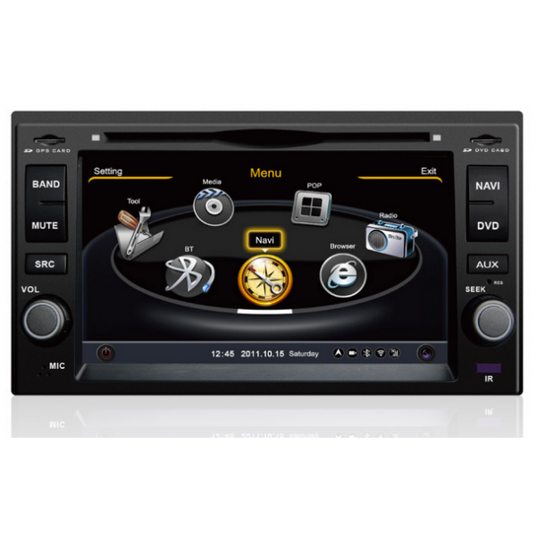 l 39 autoradio dvd gps kia carens cerato sportage carnival sorento tv tnt 3g wifi bluetooth. Black Bedroom Furniture Sets. Home Design Ideas