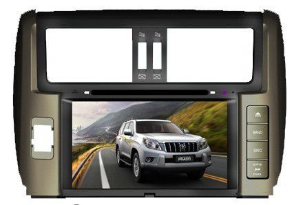 autoradio dvd gps toyota prado avec cran tactile 7 boutique autoradio poste autoradio dvd. Black Bedroom Furniture Sets. Home Design Ideas