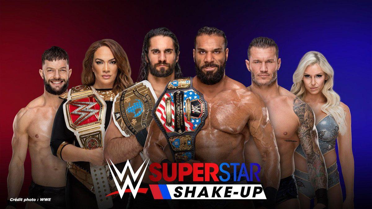 Superstars Shake Up : 5 Superstars à RAW