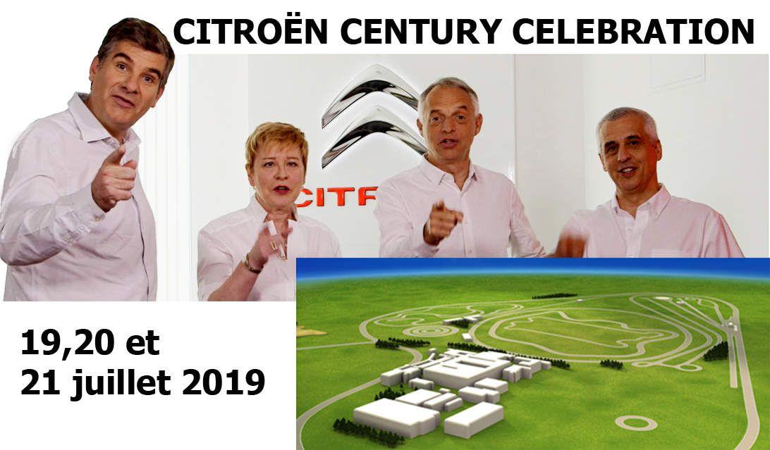 Citroën Century Celebration - 100 ans Citroën - 100 years Citroën