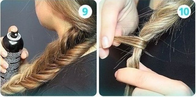 tresse queue de poisson comment faire ?