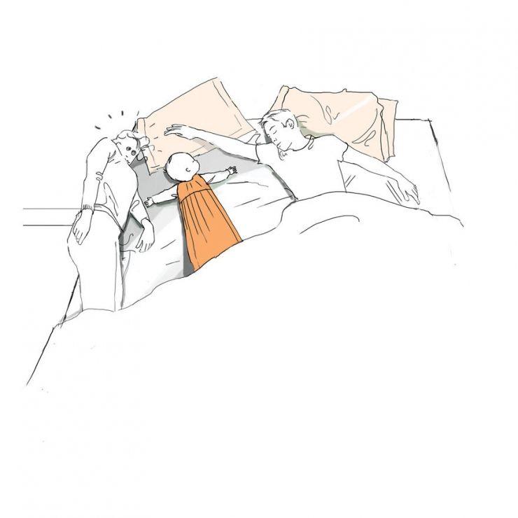 4. Dormir. Essayer du moins...