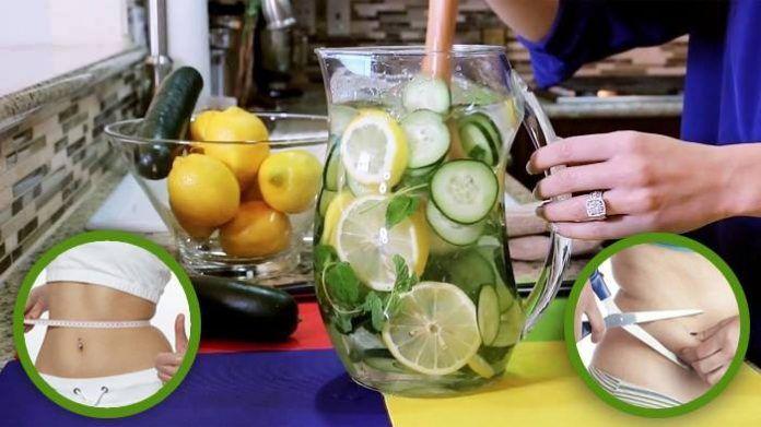 Cette recette d'eau citronnée fait le tour du monde !!! Votre ventre dégonflera en 5 minutes … c'est impressionnant !
