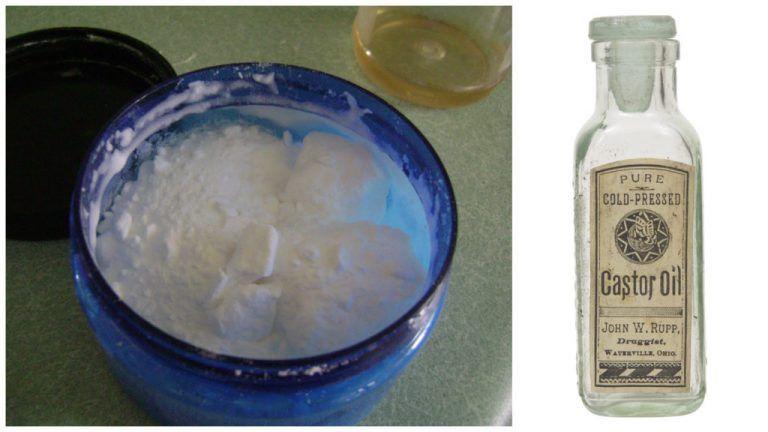 Incroyable ! L'huile de ricin et le bicarbonate de soude peuvent traiter plus de 24 problèmes de santé !