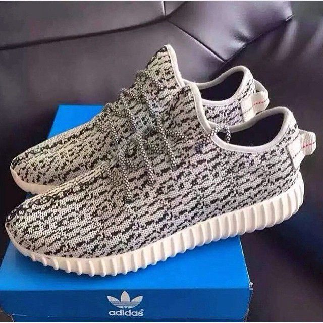 DS Adidas Yeezy Boost 350 Low Turtle Dove Gray Gray AQ4832 Sz