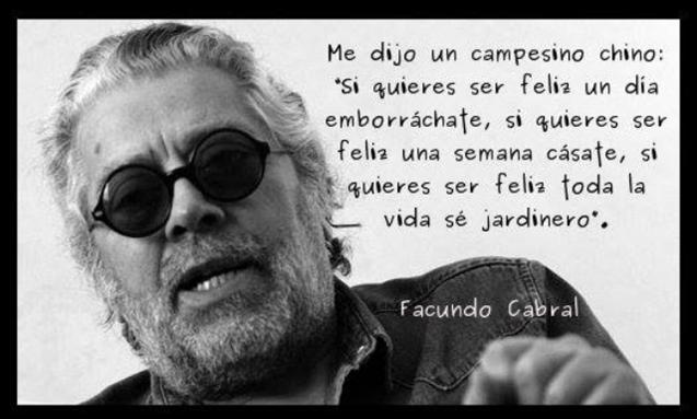 Facundo Cabral En Imagenes La Vache Rose Espagnole