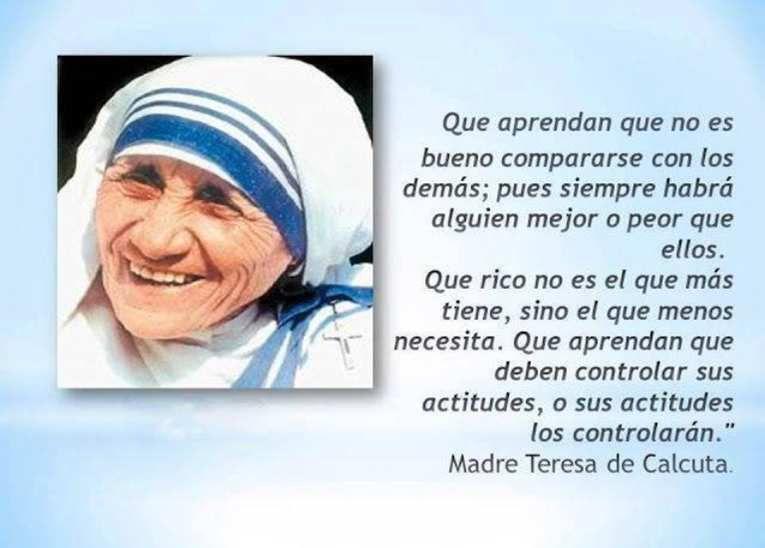 Madre Teresa De Calcuta 7 Frases En Imagenes La Vache Rose