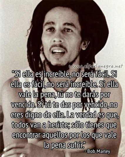 Bob Marley 7 Frases En Imagenes La Vache Rose Espagnole