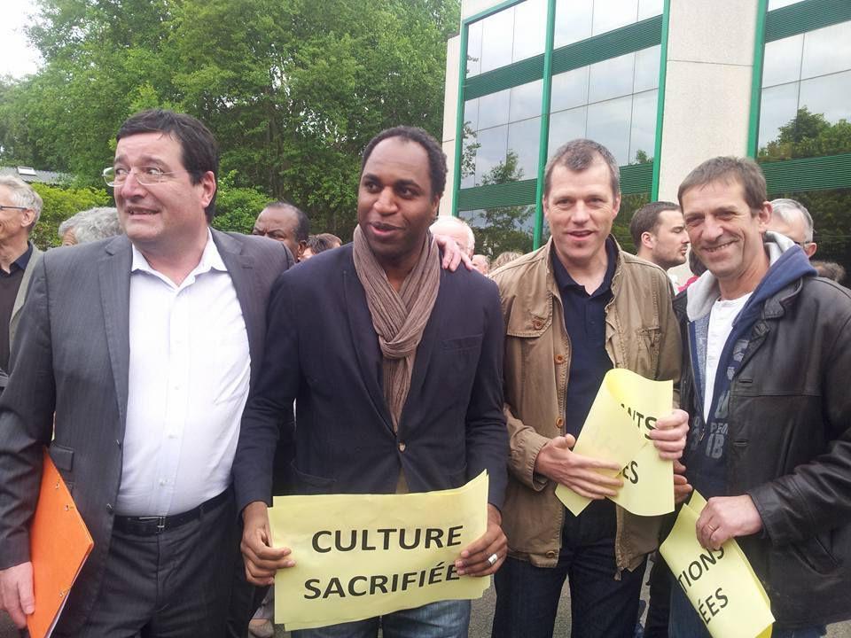 Ismaïla WANE - Conseiller municipal de Maurepas - / François Deligné - Maire de Guyancourt -
