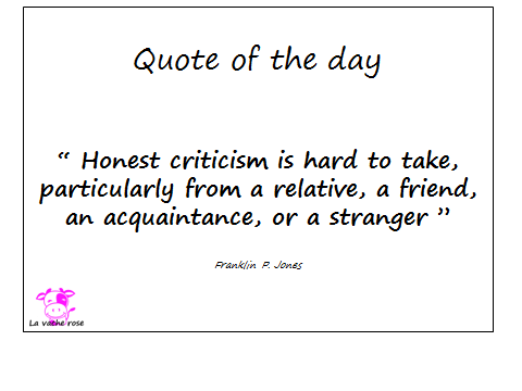 Quote of the day...