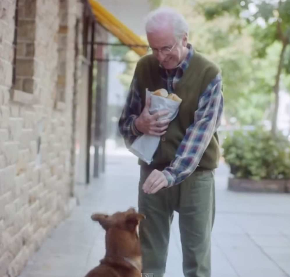 The man and the dog - Argentine amazing advertising