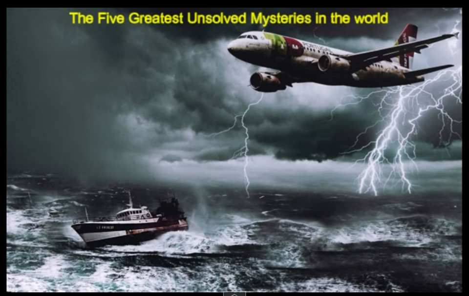 Five greatest unsolved mysteries in the world - video