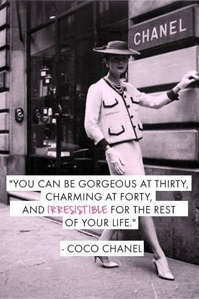 Coco Chanel 5 quotes in pictures
