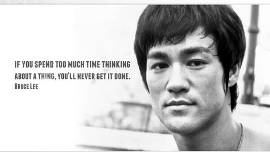 Bruce Lee 5 quotes in pictures