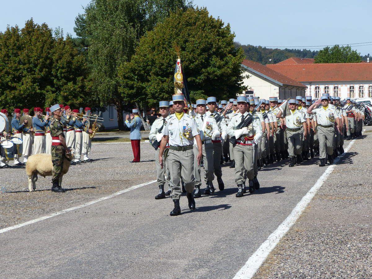 Un défilé des troupes irréprochable