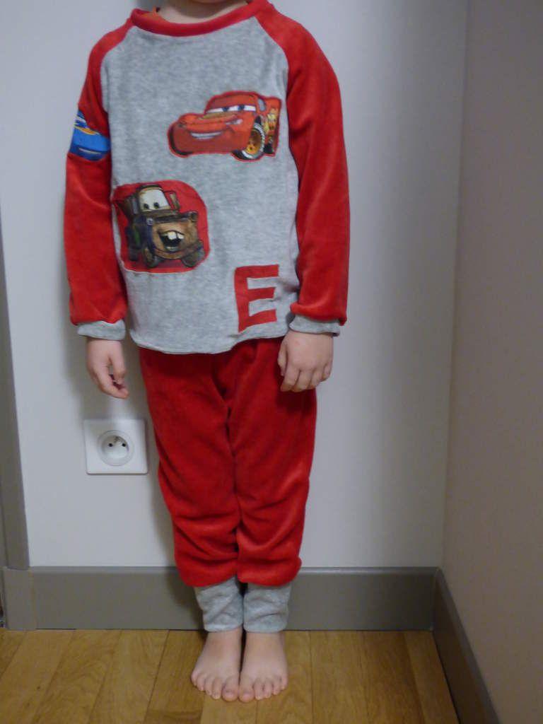 Pyjama Flash Mc Queen pour Emilien