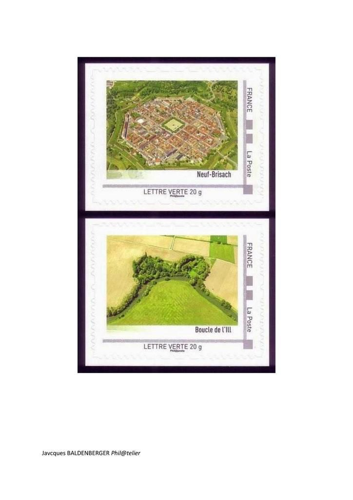 L'Alsace se raconte en timbres-poste