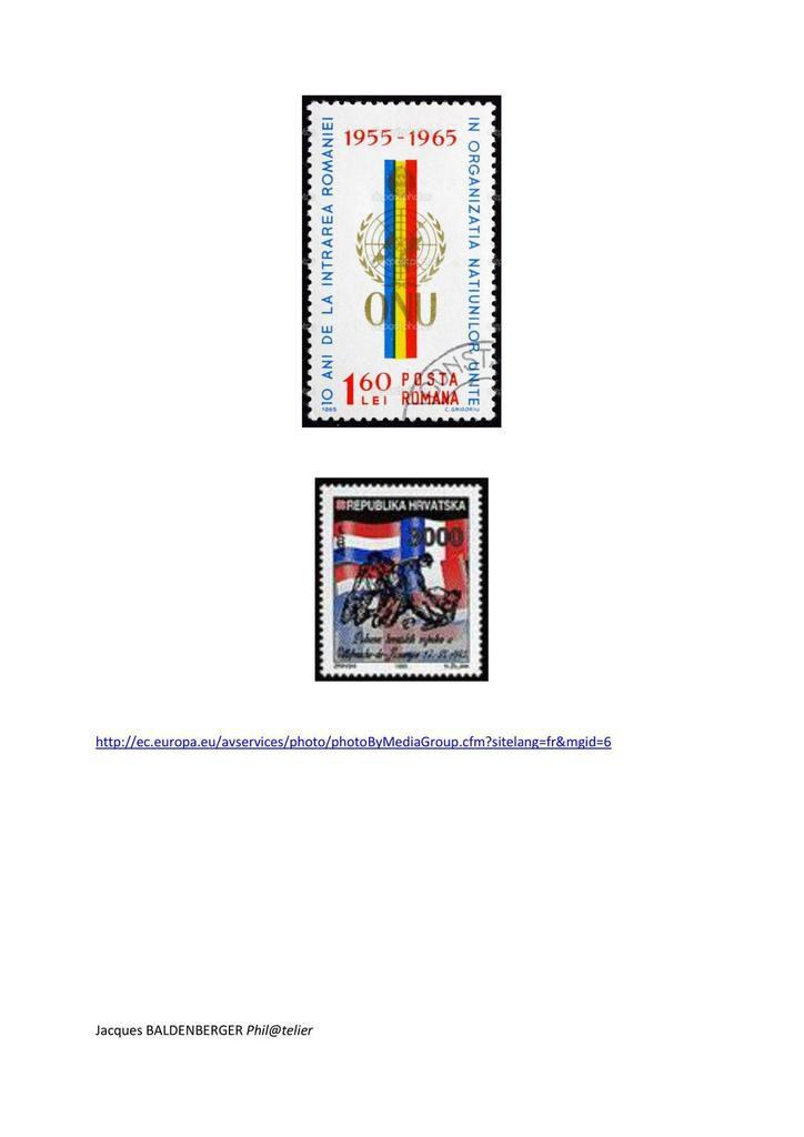 Les 28 drapeaux européens