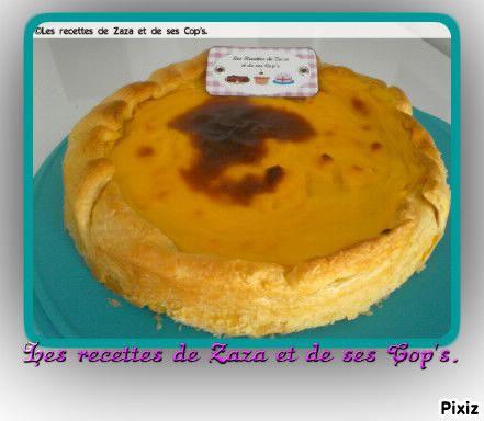 Flan Patissier Dans Moule A Cake