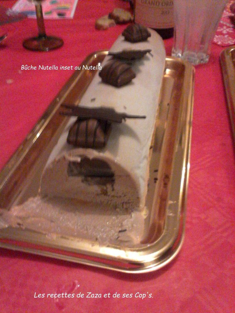 Bûche glacée au Nutella