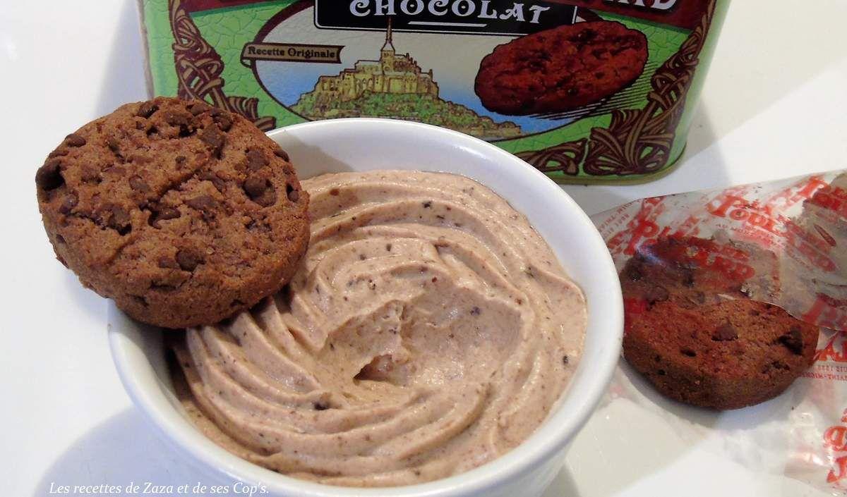 Mousse aux Cookies  chocolat de la Mère Poulard