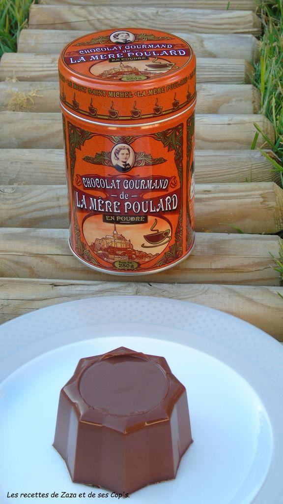 &quot&#x3B;Flamby&quot&#x3B; au chocolat gourmand de la Mère Poulard