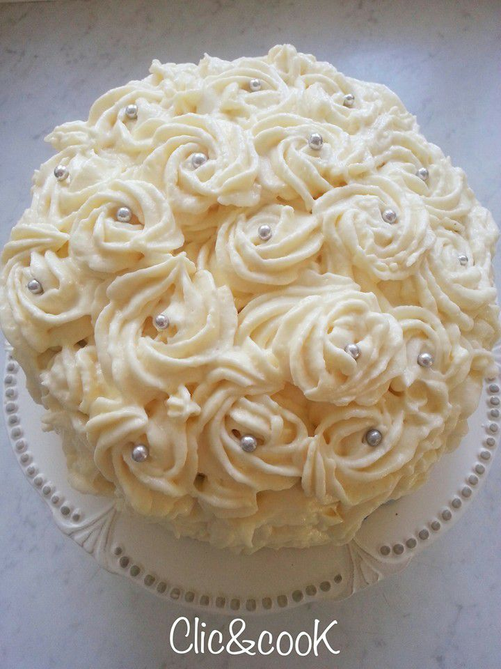 Layer Cake Glacage Rose