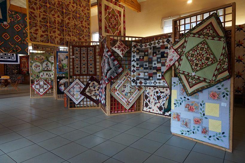L'exposition de patchwork d'Albias en images