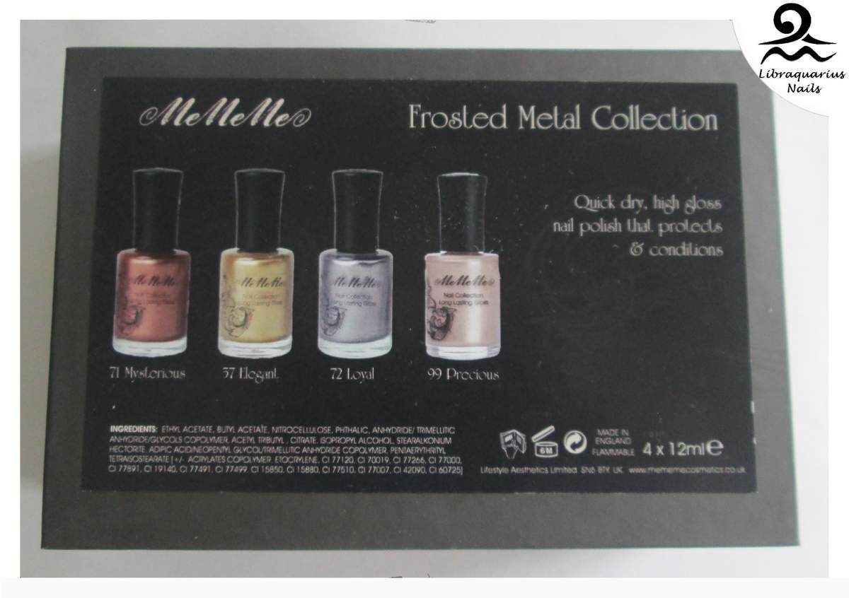 Coffret Frosted Metal Collection - MeMeMe