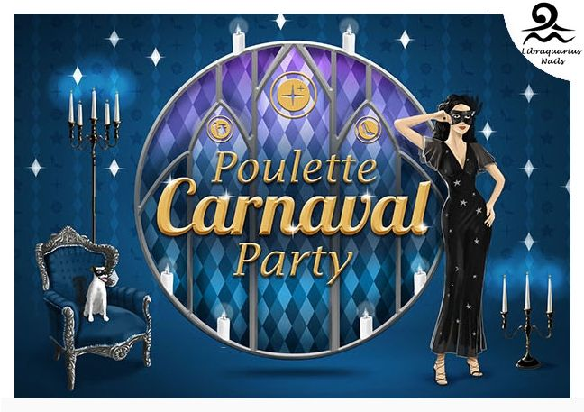 Poulette Carnaval Party : ma première Party