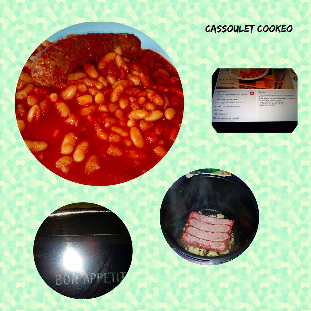 Cassoulet cookeo