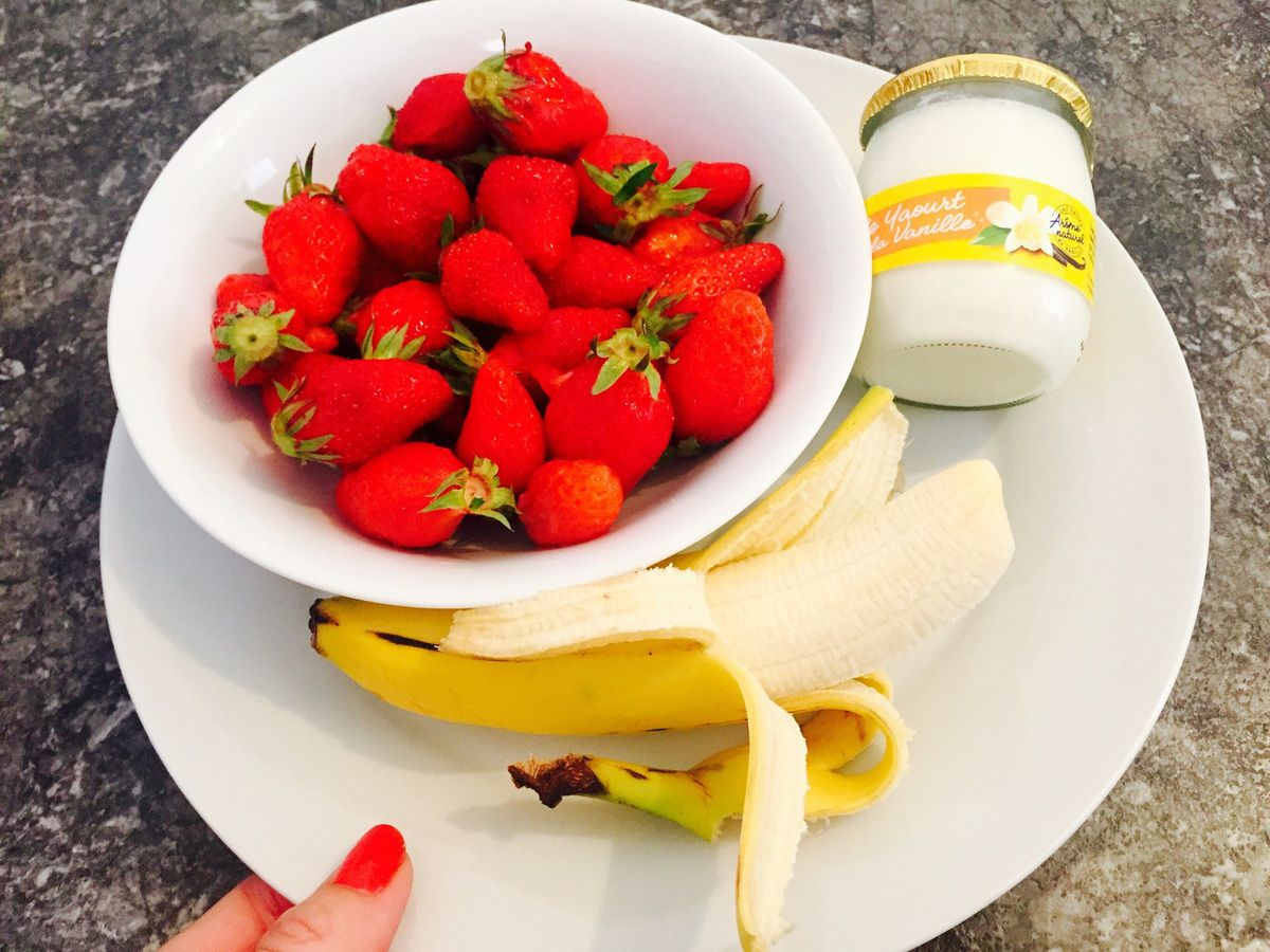 Smoothie Fraise Banane ma recette