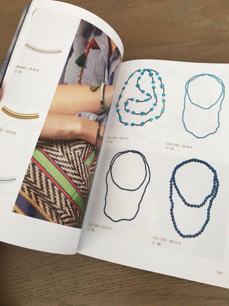 De jolies couleurs dans le catalogue à feuilleter pour découvrir les nouveautés