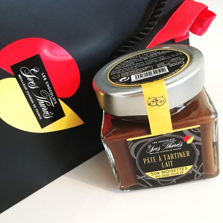 Pâte à tartiner @YvesThuriès #pateatartiner #chocolat #crepe #chandeleur #sudefrance