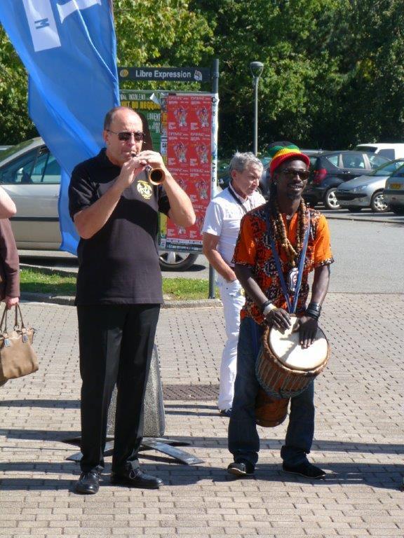 Notre presence au forum des associations de Ploemeur le 12 septembre