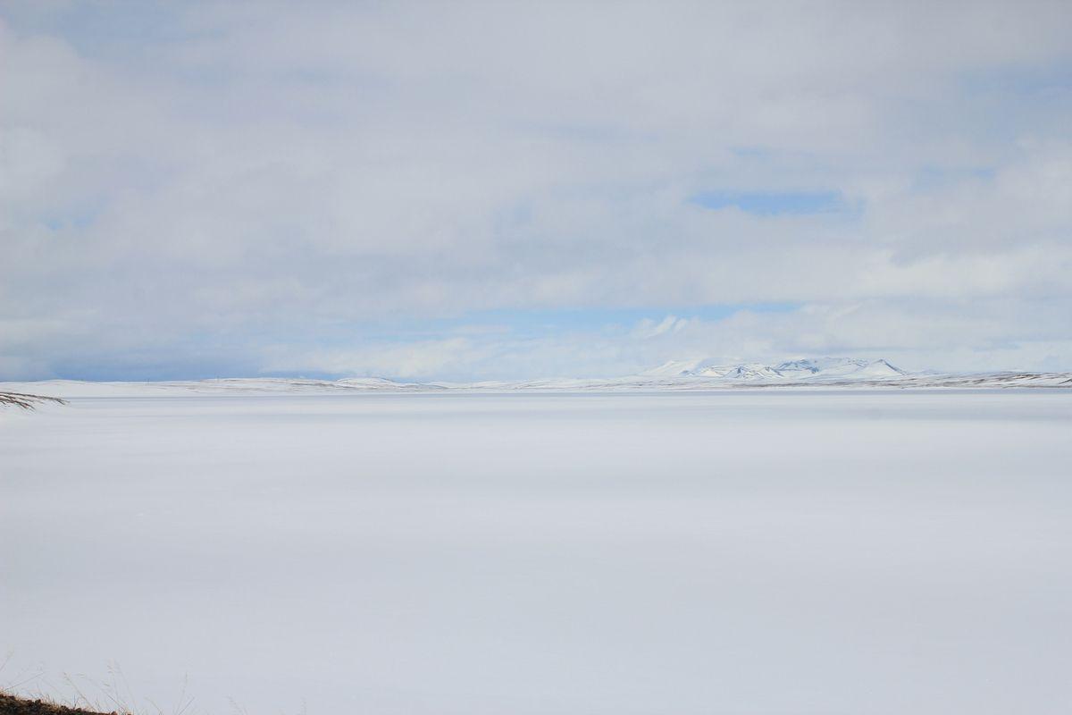 On the road : Akureyri - Mývatn