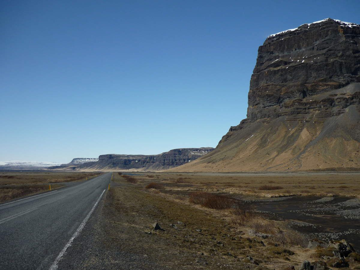 On the road : Skaftafell - Vík