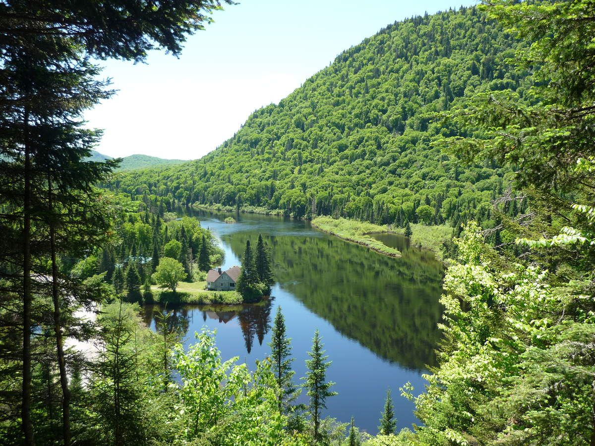 Parc national de la Jacques-Cartier - Québec