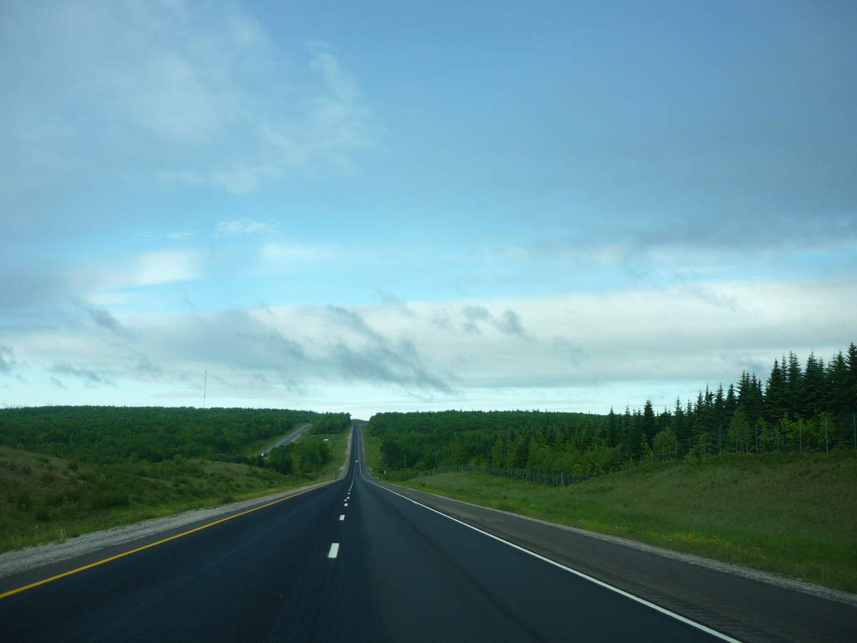 On the road : Québec - New Brunswick