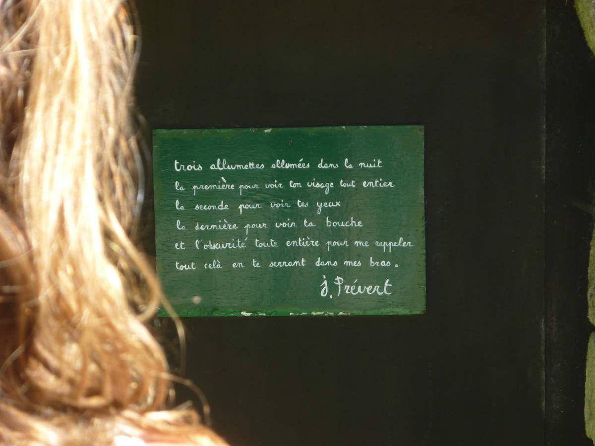 Jardins en hommage à Jacques Prévert - Cotentin