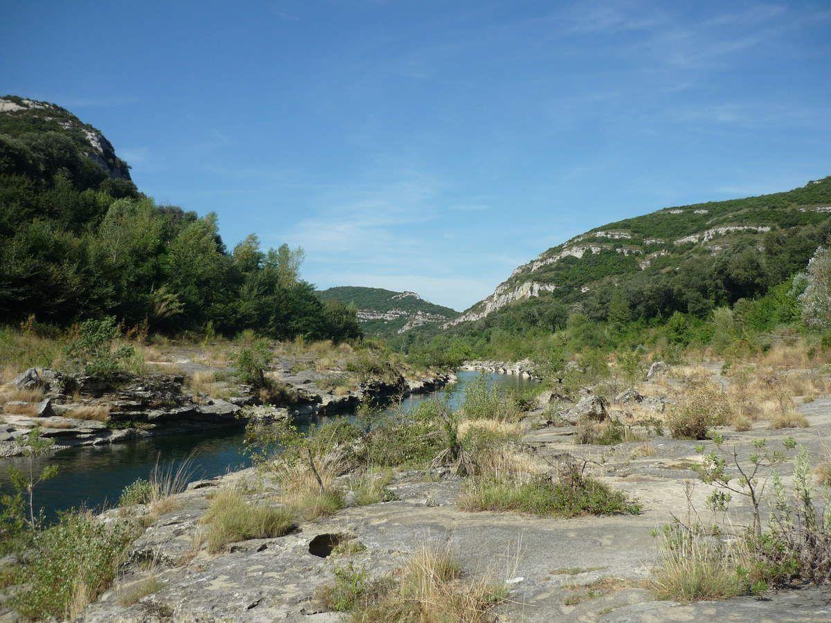 Les gorges du Gardon - Collias -  La Baume - Pont du gard