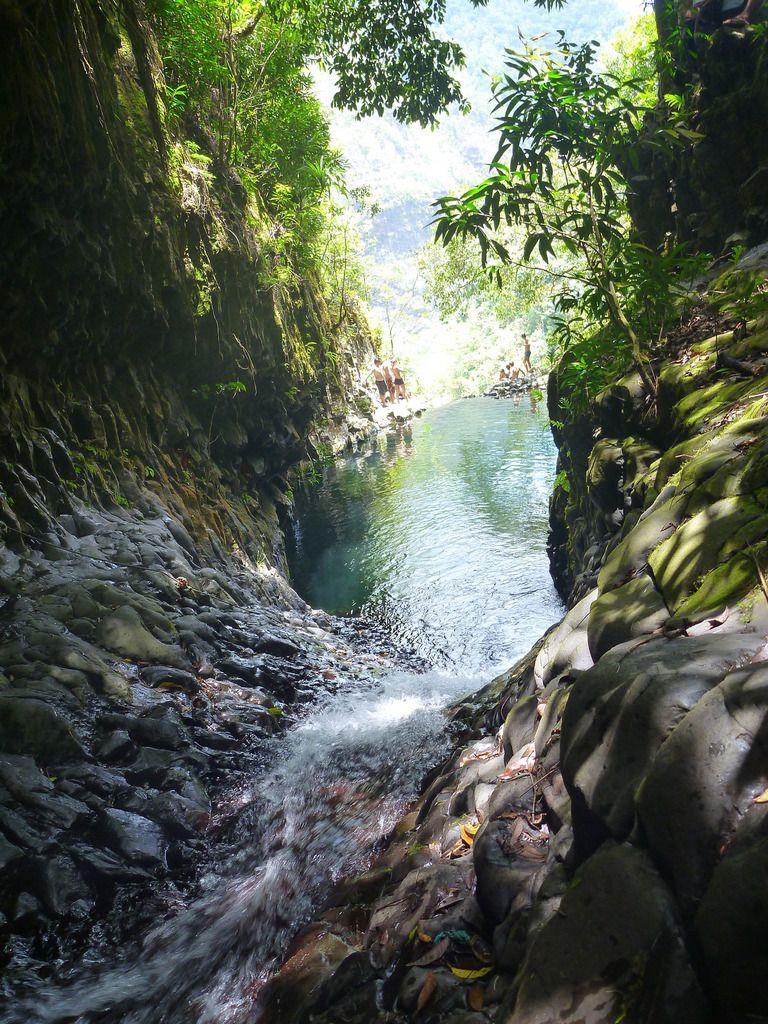 Les Vasques de la Fautaua - Tahiti