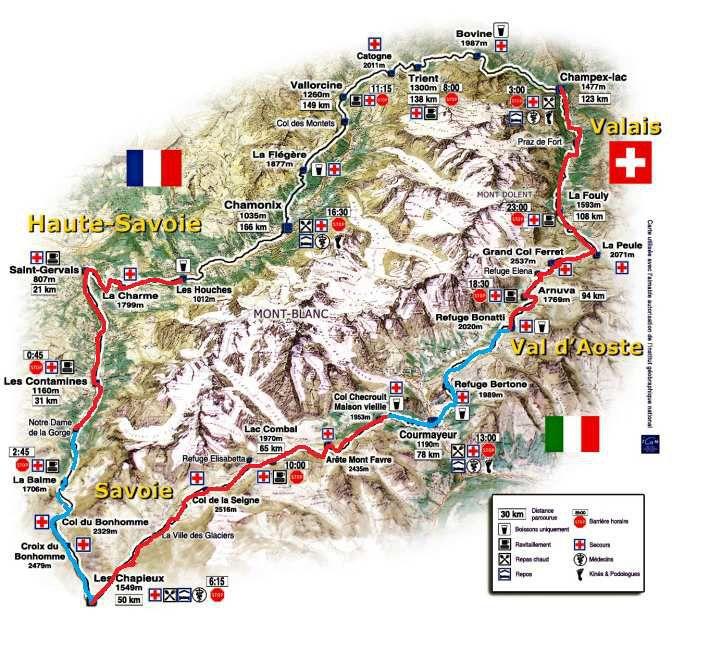 Refuge Bonatti - Grand Col Ferret - Alpes - TMB