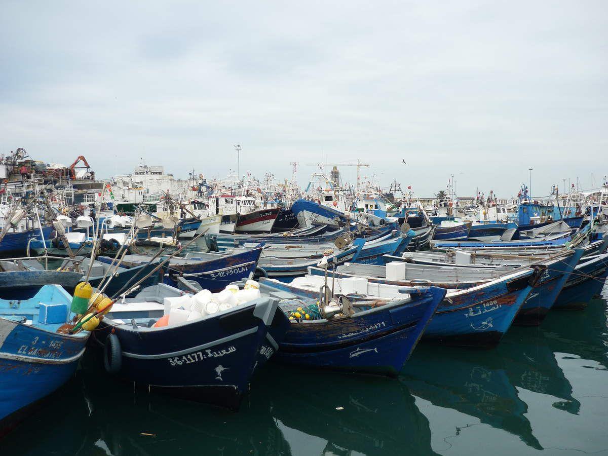 Le port de Tanger, les Grottes d'Hercule et le Cap Spartel
