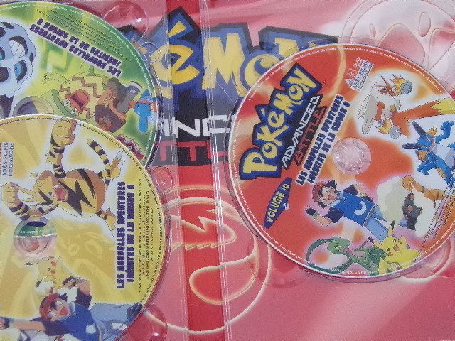 DVD Pokémon Advanced Battle Coffret collector n°2 Saison 8 épisodes 21 à 40