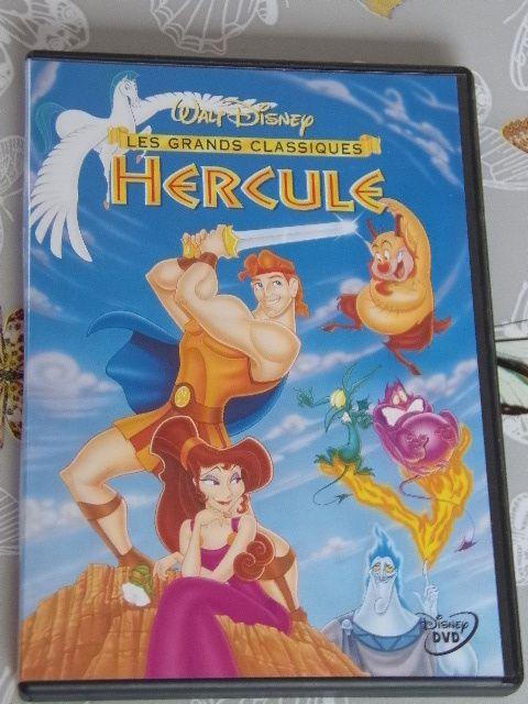 DVD « HERCULE » / WALT DISNEY / ZONE 2 - Première édition trés RARE - n°45 EO