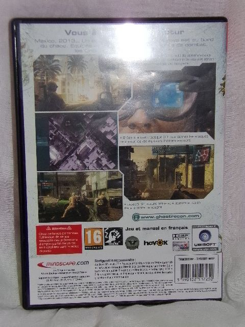 JEU PC DVD ROM - GHOST RECON ADVANCED WARFIGHTER - TOM CLANCY'S - HITS COLLECTION