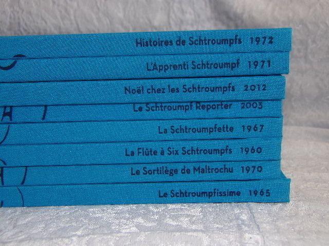 Lot Hachette 8 bandes dessinées B. D. Collection LES SCHTROUMPFS Peyo NEUVES